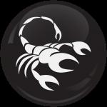 Κονκάρδα Ζώδια Σκορπιός black collection