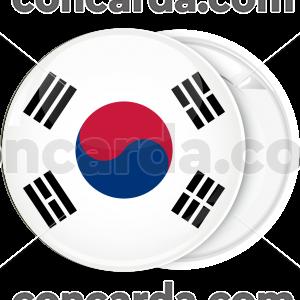 Κονκάρδα σημαία της Νότιας Κορέας