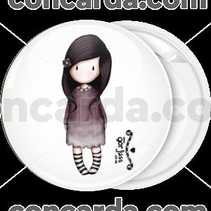 Κονκάρδα Santoro black white socks