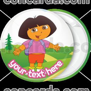 Κονκάρδα Ντόρα μικρή εξερευνήτρια στην εξοχή