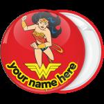 Κονκάρδα Wonder Woman κόκκινη