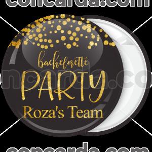 Kονκάρδα Bachelorette party Team Bride Gold