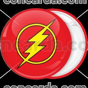 Κονκάρδα Flash αστραπή κίτρινη