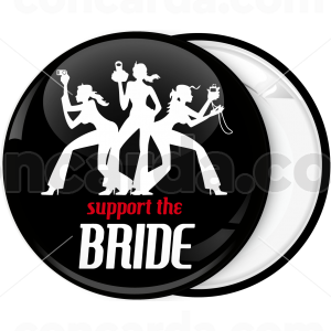 Kονκάρδα support the bride μαύρη