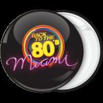 Κονκάρδα Back to the 80s Miami μαύρη