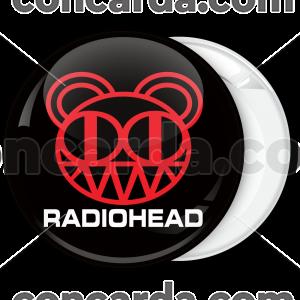 Κονκάρδα Radiohead μαύρη