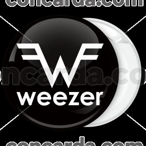 Κονκάρδα Weezer μαύρη
