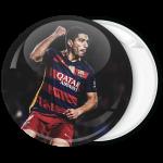Αθλητική κονκάρδα Luis-Suarez αγώνας