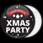 Κονκάρδα Χριστουγέννων You are Invited to Xmas Party