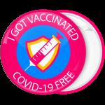 Κονκάρδα I got vaccinated φούξια
