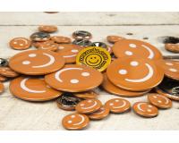 Διαφημιστικές κονκάρδες Orange Smile