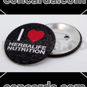 Κονκάρδα Glitter Herbalife Μαύρη