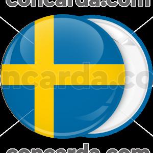 Κονκάρδα σημαία Σουηδίας
