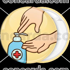 Κονκάρδα Wash your hands gel