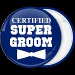 Κονκάρδα Certified super groom μπλέ