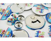 Σετ κονκάρδες παραμάνα, μαγνήτης, σκουλαρίκια για παιδικό πάρτυ