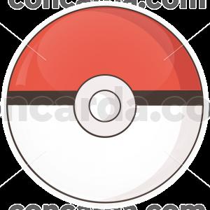 Κονκάρδα Pokemon ball thin