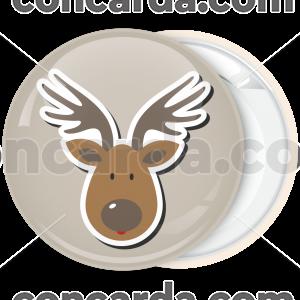 Κονκάρδα Χριστουγέννων Reindeer Head