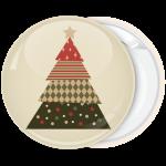 Κονκάρδα Χριστουγέννων Christmas Tree beige star