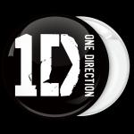 Κονκάρδα One Direction μαύρη
