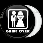Κονκάρδα Bachelor Game Over ζευγάρι πλαίσιο