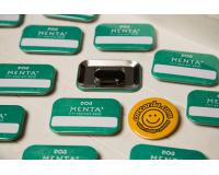 Κονκάρδες ορθογώνιες μαγνήτης Ρούχου Menta Hotel