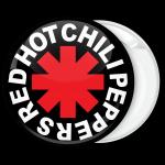 Κονκάρδα Red Hot Chili Peppers μαύρη