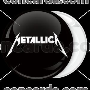Metallica music heavy metal band badge
