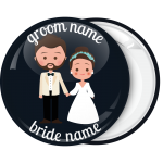 Κονκάρδα γάμου Beard couple