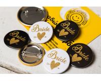 Κονκάρδες  bachelorette gold glitter