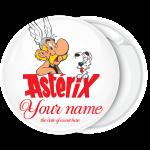 Κονκάρδα βάπτισης Asterix λευκή