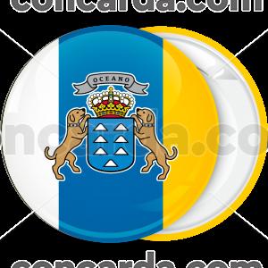 Κονκάρδα σημαία Κανάριοι Νήσοι