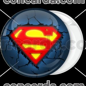 Κονκάρδα Superman classic broken