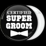 Κονκάρδα Certified super groom μαύρη