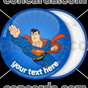 Kονκάρδα βάπτισης Superman flying classic