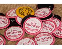 Κονκάρδες baby shower Vintage
