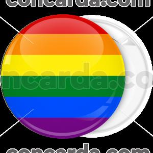 Κονκάρδα LGBT σημαία