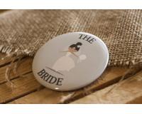 Κονκάρδες γάμου The Bride