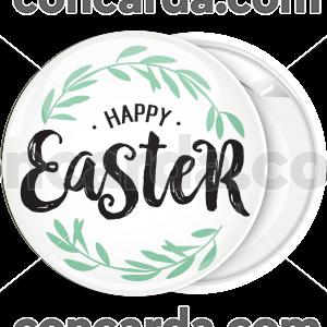 Κονκάρδα Happy Easter στεφάνι