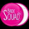 Kονκάρδα Bride Squad διαμάντι φούξια