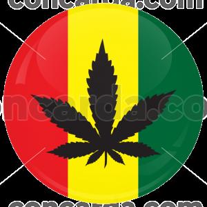Κονκάρδα μαριχουάνα σύμβολο Bob Marley