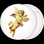 Κονκάρδα άγγελος με λουλούδια