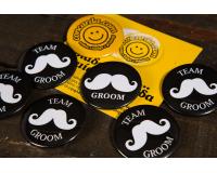 Κονκάρδες The Groom & Team Groom