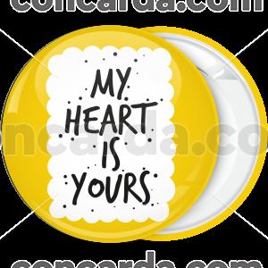 Κονκάρδα ερωτευμένων My Heart is Yours