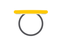 Κονκάρδες δαχτυλίδι