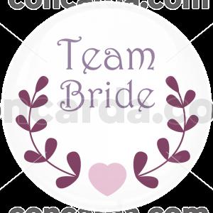 Κονκάρδα γάμου Team Bride love