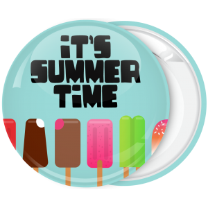 Μπλέ Κονκάρδα με παγωτά Its summer time