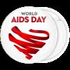 Κονκάρδα World Aids Day καρδια