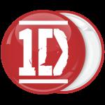 Κονκάρδα One Direction κόκκινη