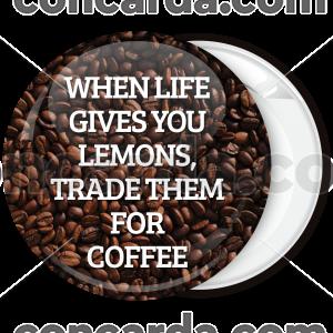 Κονκάρδα When life gives you lemons κεφαλαία γραφή